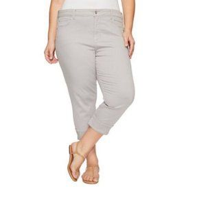 NYDJ Ankle Jeans in Moonstone Gray 20W EUC